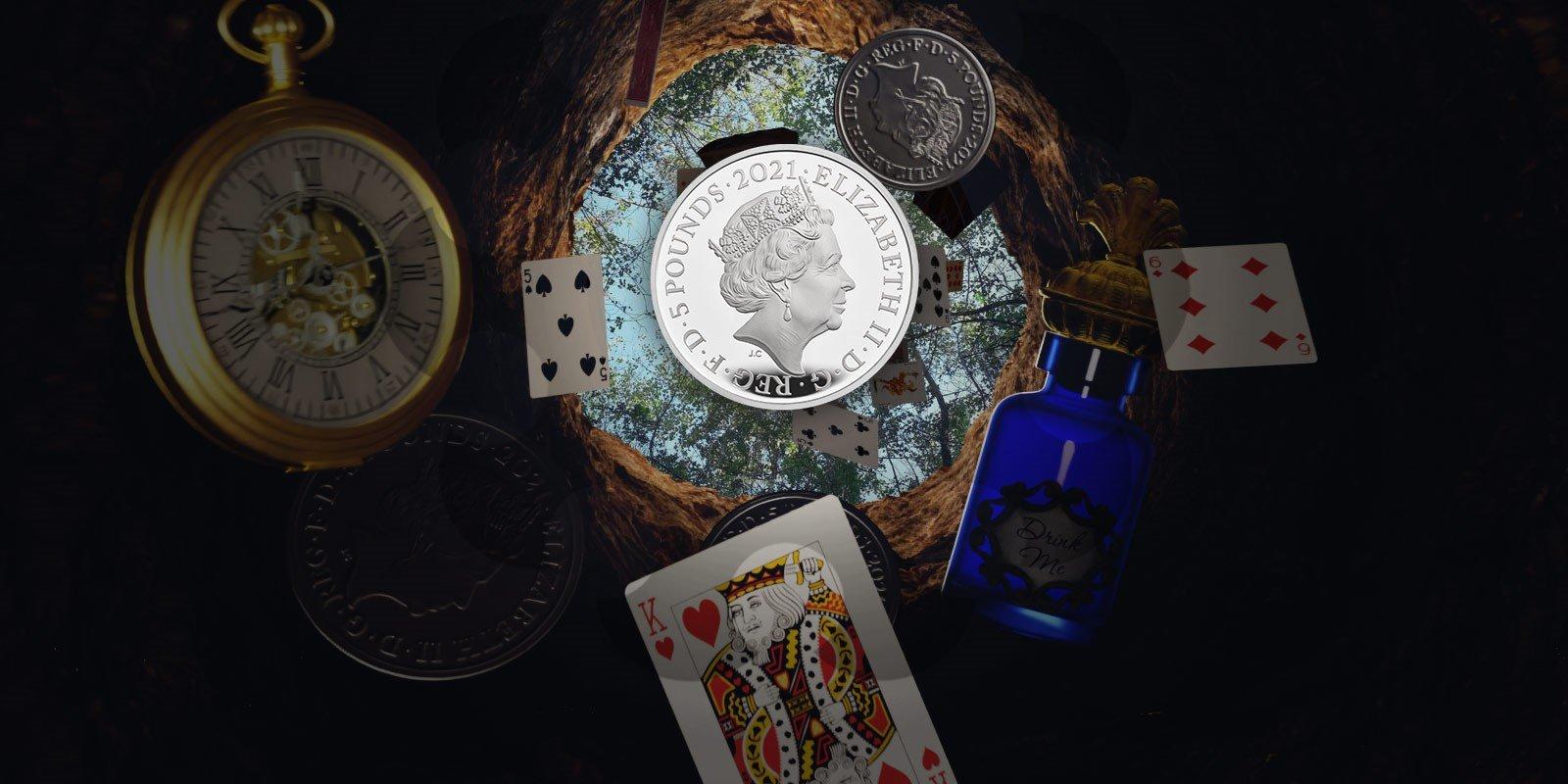Alice In Wonderland Coins