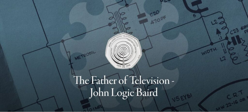 John Logie Baird 50p