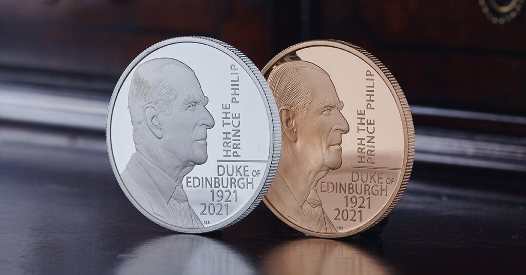 Prince Philip Coins