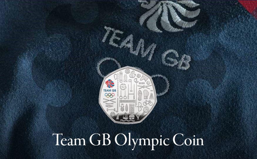Team GB Olympic Coins