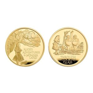 Alice's Adventures 2021 UK One Ounce Gold Proof Two-Coin Series