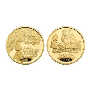 Alice's Adventures 2021 UK Quarter-Ounce Gold Proof Two-Coin Series
