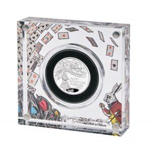 Alice's Adventures in Wonderland 2021 UK Half-Ounce Silver Proof Coin
