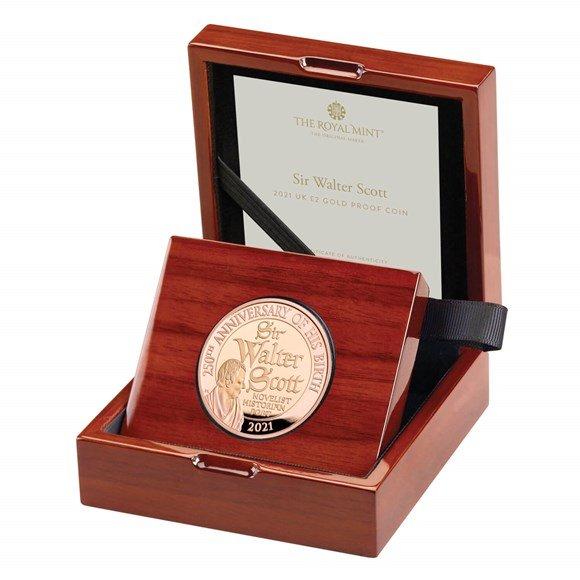 Sir Walter Scott Gold Coin