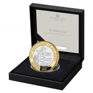Sir Walter Scott Silver Coin