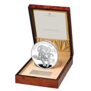 Lunar Year of the Tiger 2022 United Kingdom Silver Proof Kilo Coin
