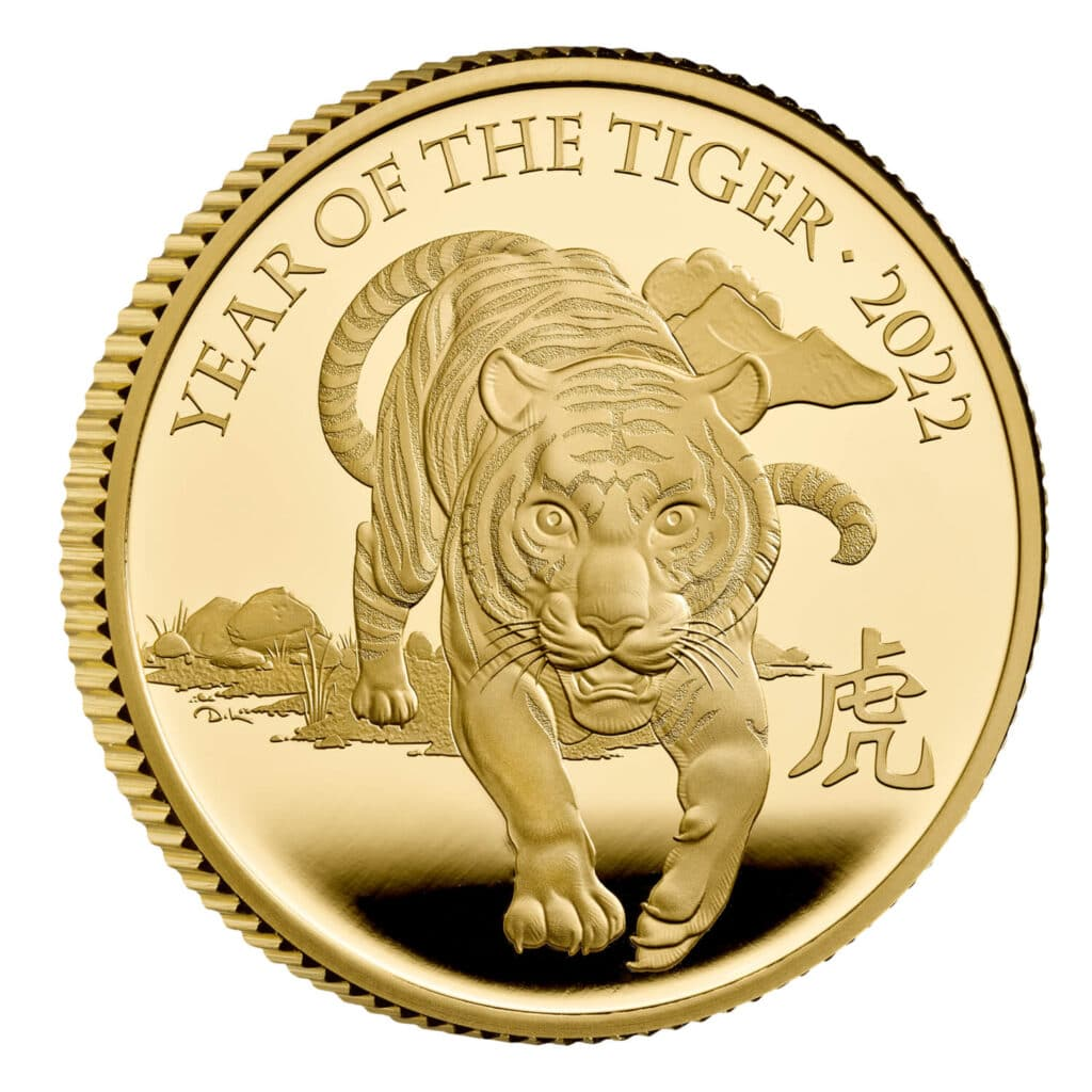 Lunar Year of the Tiger 2022 Coin