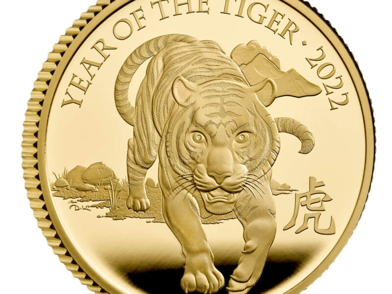 Lunar Year Of The Tiger 2022 Coins