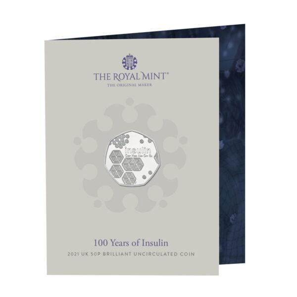 2021 Insulin 50p coins