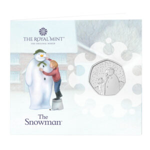 2021 The Snowman 50p Brilliant Uncirculated Coin