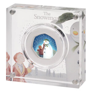 2021 The Snowman 50p Silver Proof Coin