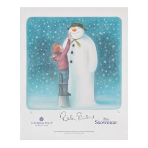 2021 The Snowman Limited Edition Print