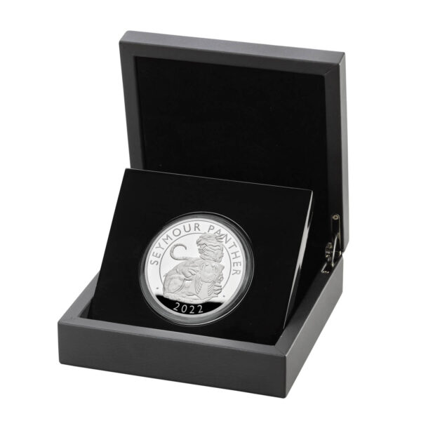 The Seymour Panther 2022 UK 5oz Silver Proof Coin