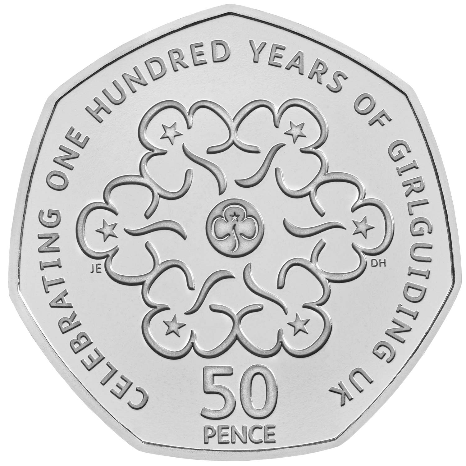 2019 Girl Guides 50p