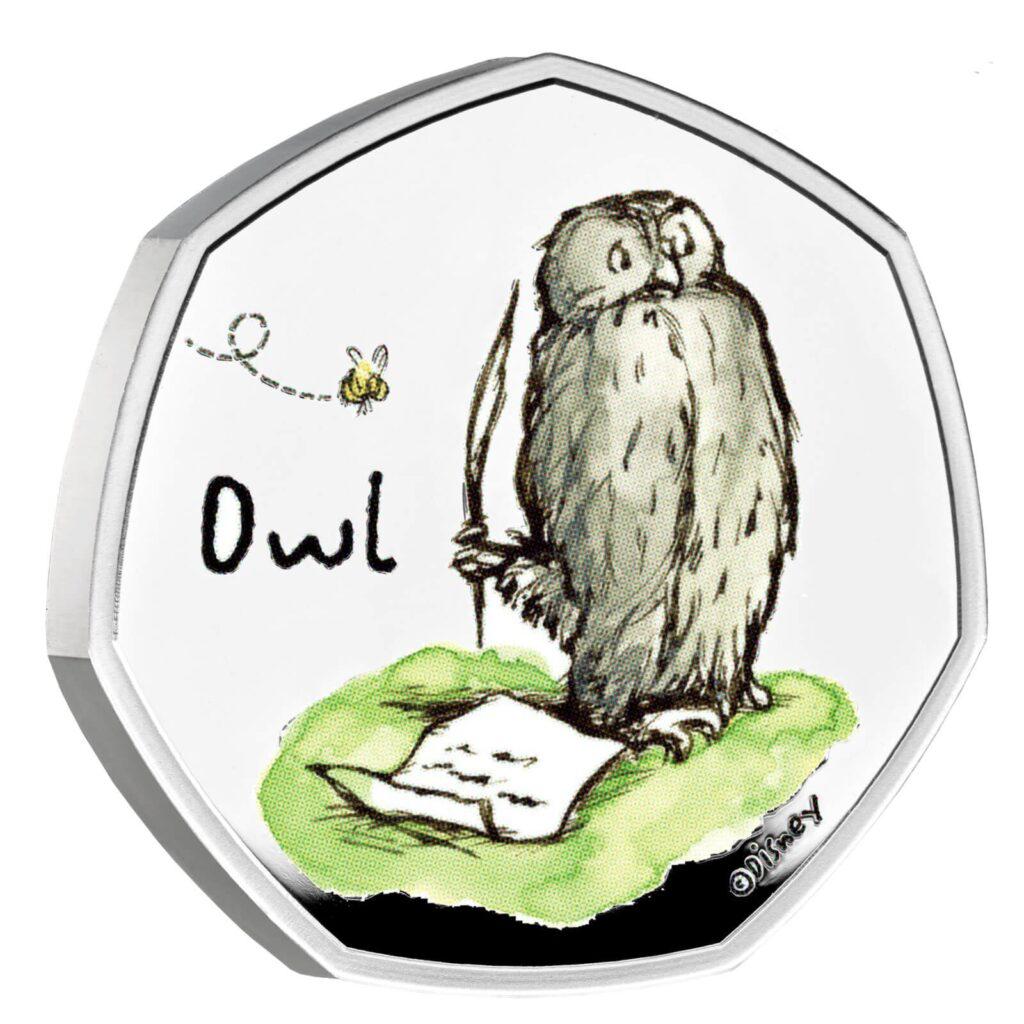Owl 50p